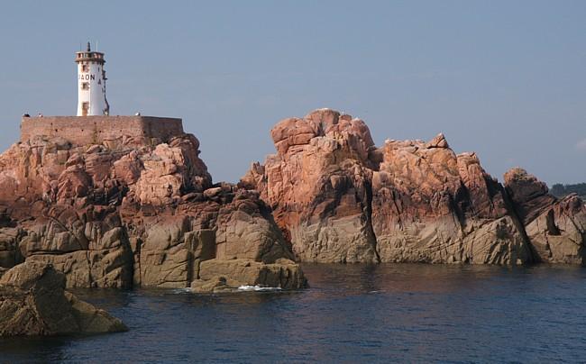 Bretagne Insel Île de Bréhat: Phare du Paon.