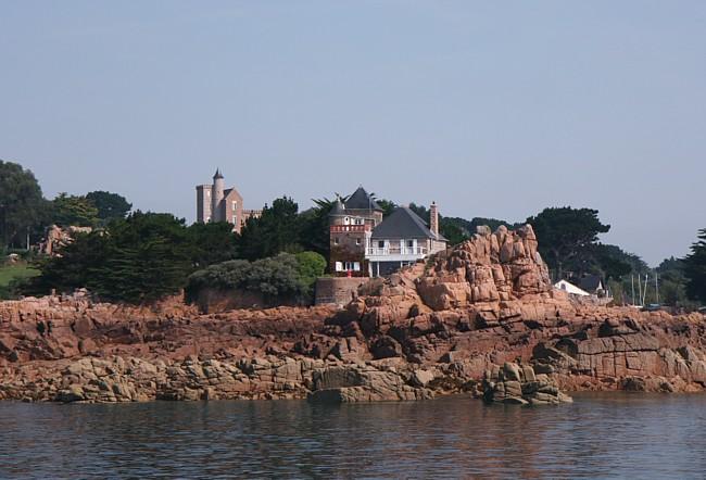 Bretagne Insel Île de Bréhat: Rundfahrt.