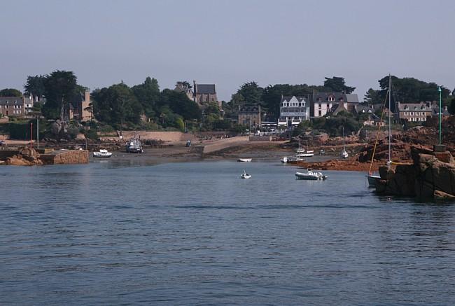Bretagne Insel Île de Bréhat: Hafen.