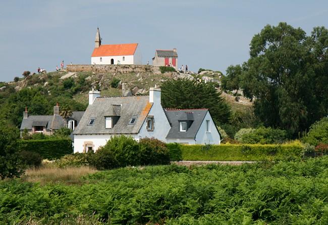 Bretagne Insel Île de Bréhat: Chapelle de Saint-Michel.