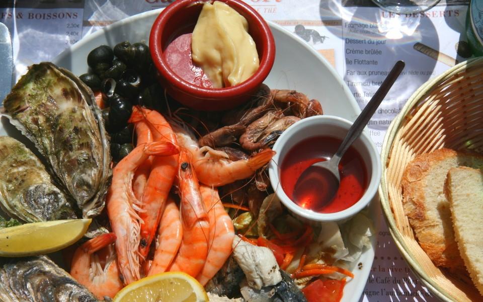Bretagne erleben - Meeresfrüchte