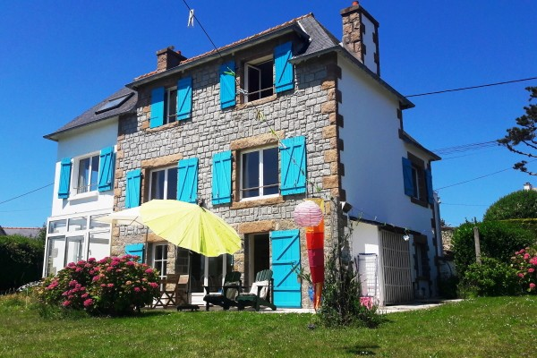 Ferienhaus Frankreich am Meer Bretagne Kerjagu 6 Personen