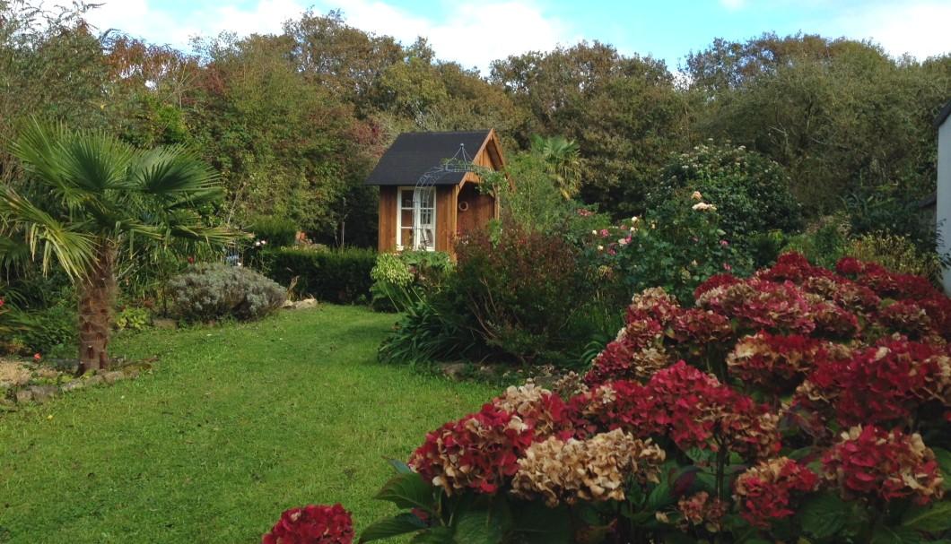 Ferienhaus Bretagne Atlantique - Garten