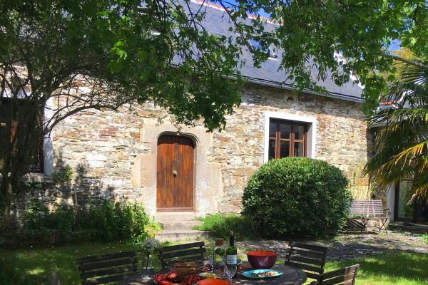 Ferienhaus Frankreich am Meer Bretagne St-Nic 4 Personen
