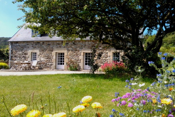 Ferienhäuser Frankreich am Meer Bretagne St-Sula 2 - 6 Personen