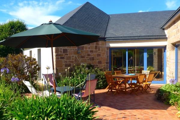 Ferienhaus Frankreich am Meer Bretagne Villa Granit Rose 10 Personen