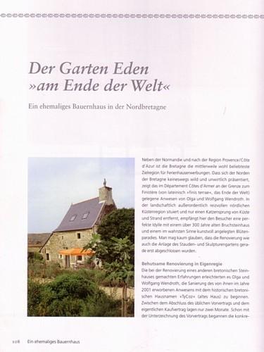 Ferienhaus Bretagne TyCoz im Buch.