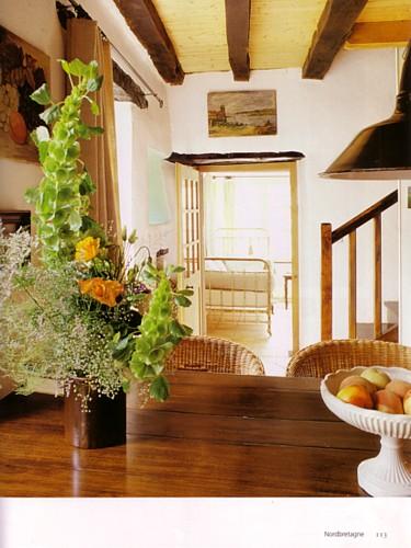 Ferienhaus Bretagne TyCoz: Foto im Buch von Thomas Drexel.