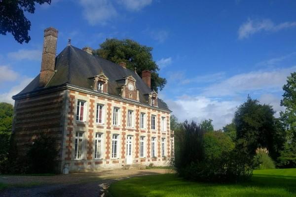 Gästezimmer Normandie Château du Verbosc