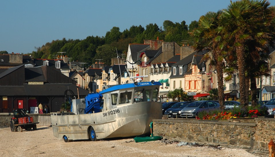 Bretagne Stadt am Meer Cancale