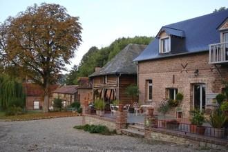 Gästezimmer Normandie Le Cellier du Val Boury