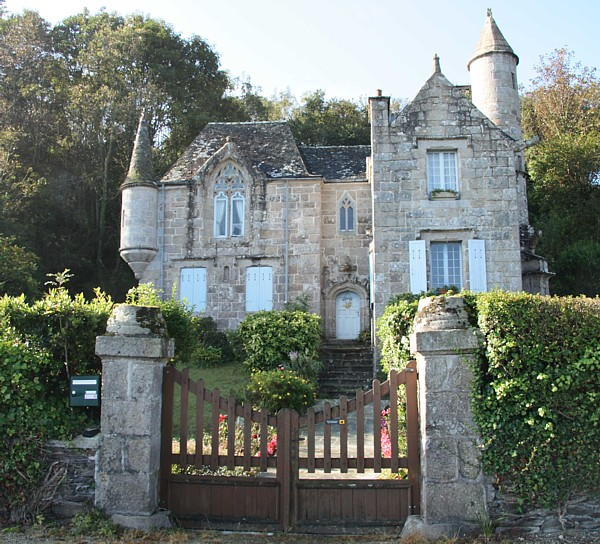 Bretagne Architektur Haus in St Efflam
