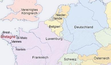 Frankreich Departements Karte.Bretagne Infos Insidertipps